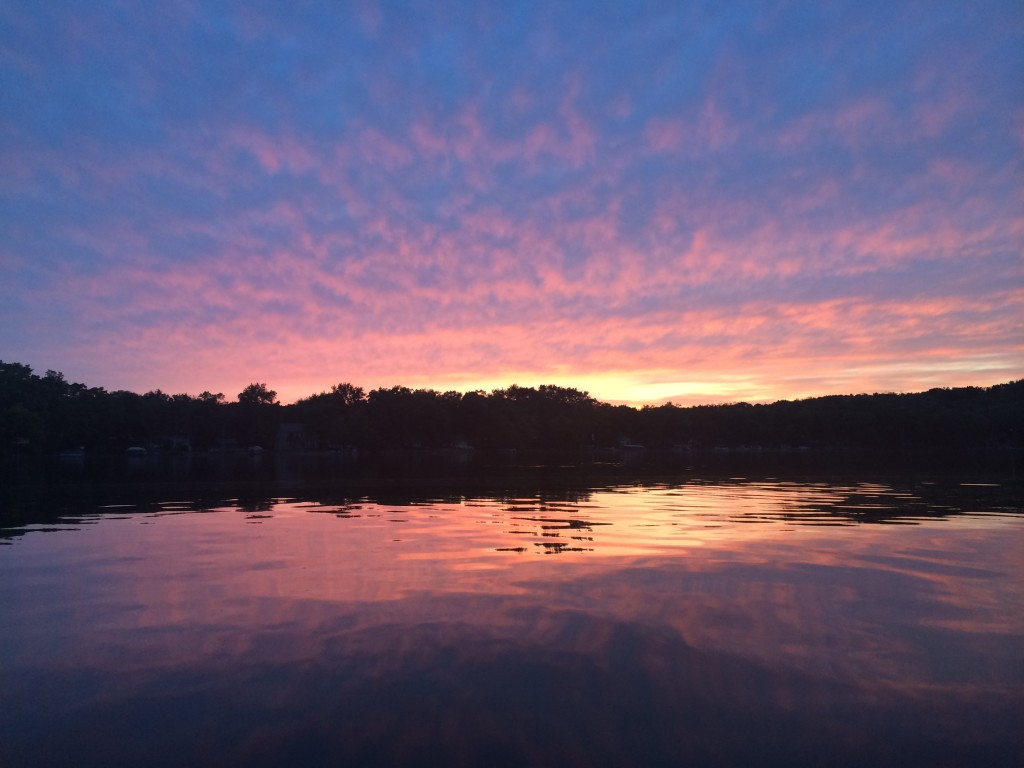 Park Lake Sunset 1